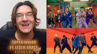 Download Lagu SUPER JUNIOR FT. LESLIE GRACE - LO SIENTO | REACCIÓN/REACTION #LMD Mp3