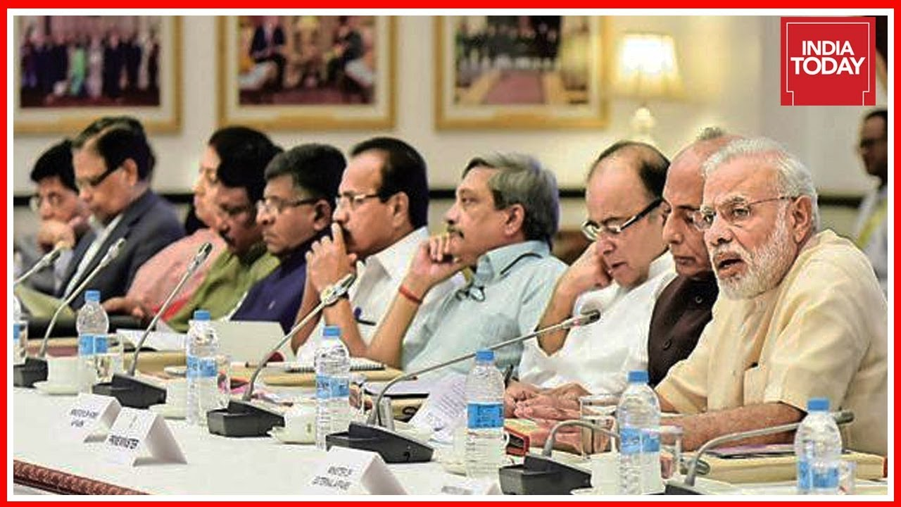 Union Cabinet Reshuffle Likely Before Pm Modi Leaves For