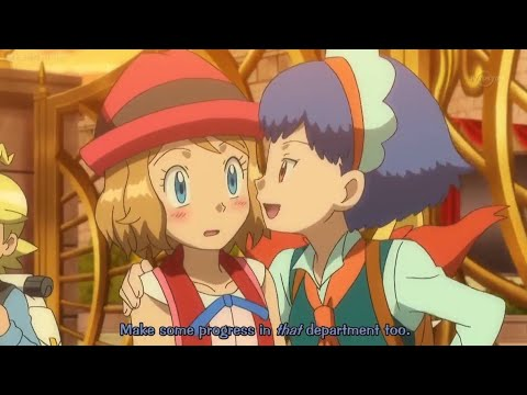 Download Every time girls tease Serena about her crush on Ash