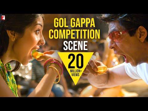 Scene: Gol Gappa Competition - Aaj No Limit | Rab Ne Bana Di Jodi | Shah Rukh Khan | Anushka Sharma