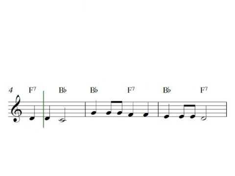 Free Printable Sheet Music For Trumpet Baa Baa Black Sheep Youtube