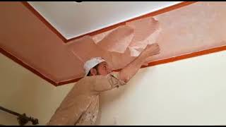 how to paint design on ceiling.2018.p2