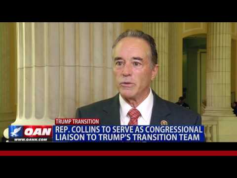 Rep. Chris Collins named Trump Transition Point Man on Capitol Hill