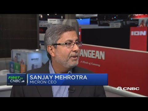 Micron CEO: Outside factors caused us to lower guidance