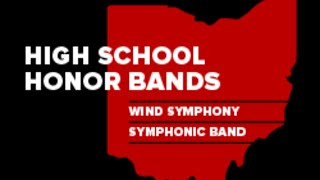 1.19.20 Ohio State High School Honor Band Concert