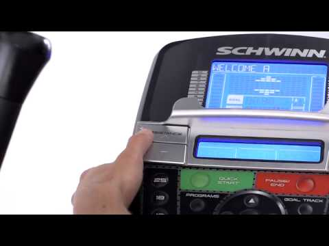Schwinn 430 elliptical trainer user manual.
