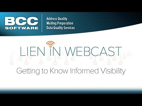 Lien In Webcast - Getting to Know Informed Visibility