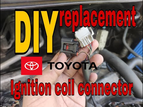 Ignition coil connector replacement on Toyotas(DiY)