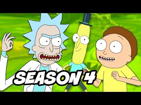 Rick and Morty Season 4 Teaser Explained and Season 3 Deleted Scene
