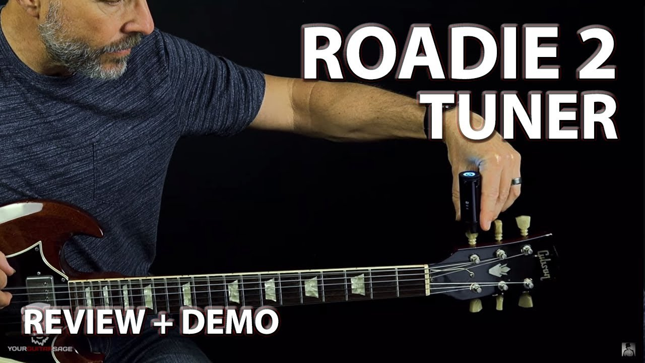 roadie 2 standalone automatic guitar tuner review demo youtube. Black Bedroom Furniture Sets. Home Design Ideas