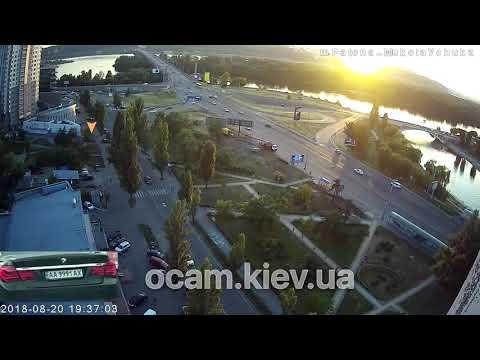 Авария с BMW за 40 мин на Днепровской набережной, Киев - что было за 40 минут до страшного ДТП