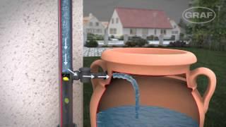 видео Емкость для сбора дождевой воды