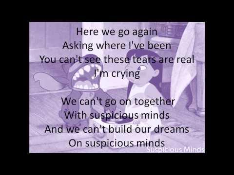 Suspicious Minds lyrics