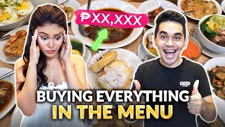 BUYING EVERYTHING IN THE MENU! | IVANA ALAWI