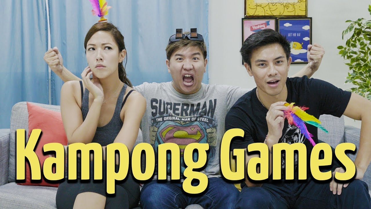 Potato Box: Kampong Games Ft Vanessa Vanderstraaten & Thomas Pang