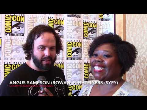 Angus Sampson talks Nightflyers SYFY at SDCC
