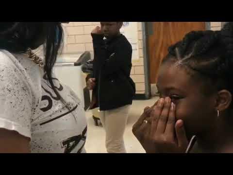 LaShunna Stokes at Stoneview Elementary School