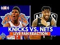 Knicks 105 - 107 Nets| The Knicks Get Robbed!| Knicks vs. Nets LIVE Reaction and Fan Phone In!