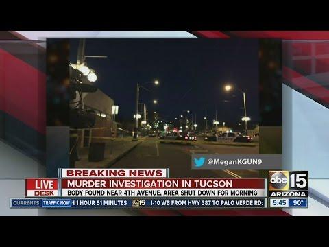 Murder investigation in Tucson