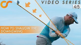 THE CORRECT WAY TO SHALLOW THE CLUB SHAFT