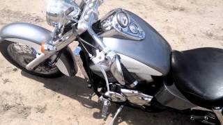 Краткий видеообзор мотоцикла Хонда Шадоу 750