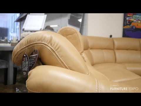 Natuzzi Potenza | Collier's Furniture Expo