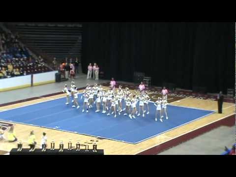 Pleasant Hill Middle School Cheerleaders State Champions 2011.mpg