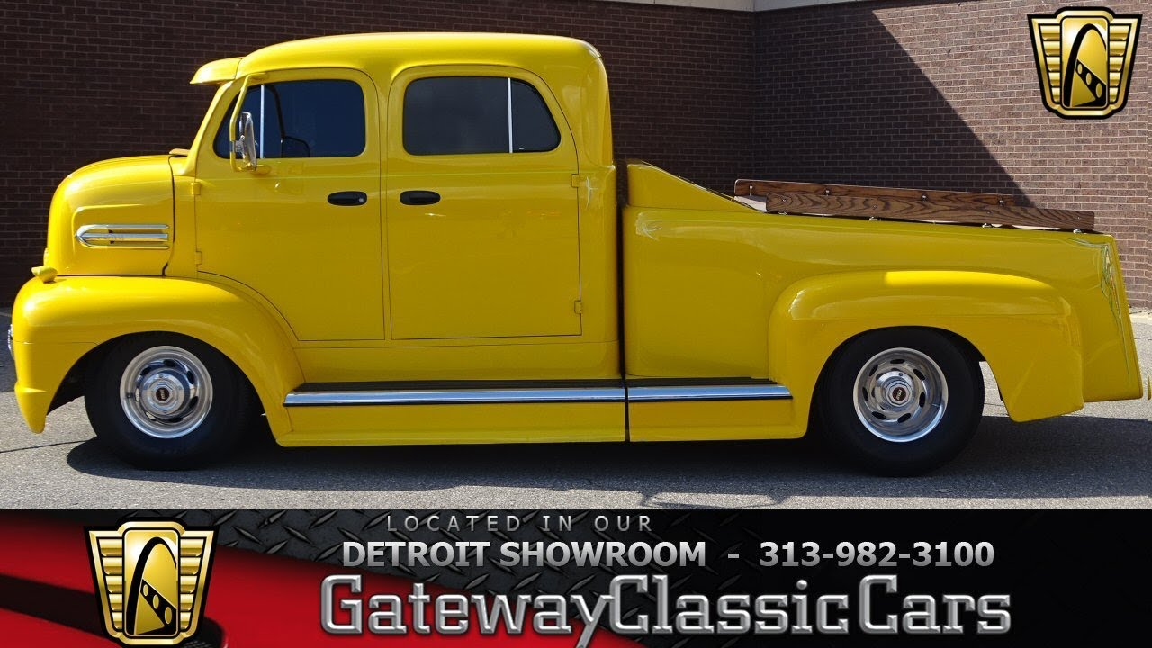 1951 Ford Cab Over Stock 1067 Det Youtube