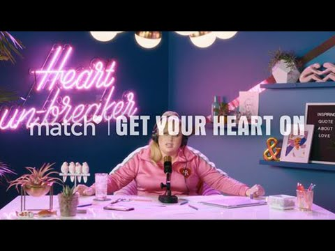 Match & Rebel Wilson: Singles, Get your Heart on!!