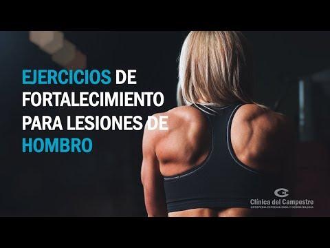 Ejercicios de fortalecimiento para lesiones de hombro