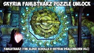 SKYRIM Fahlbtharz Puzzle Unlock