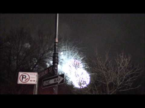New Year's Eve 2017 Fireworks Brooklyn NY Prospect Park Grand Army Plaza Complete Show