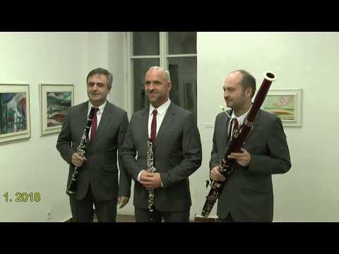Pražské dechové trio, Heroldův sál RG Rakovník 11. 1. 2018