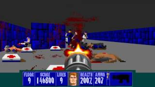 Wolfenstein 3D: The Final Battle!