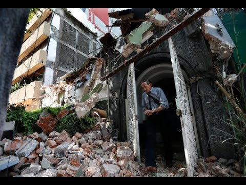 TERRIFYING FOOTAGE OF SECOND EARTHQUAKE TO STRIKE MEXICO IN A WEEK, SEPTEMBER 2017!