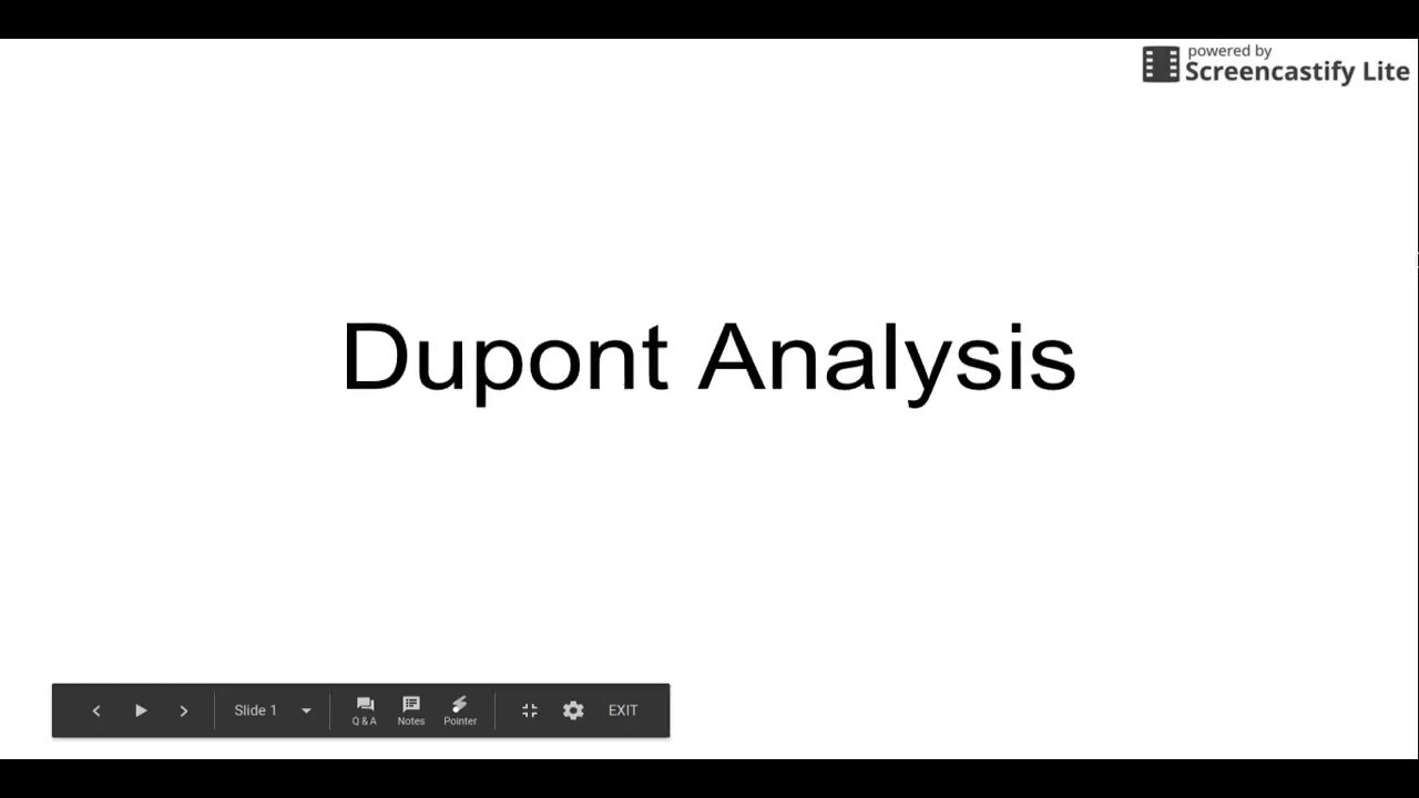 dupont model example