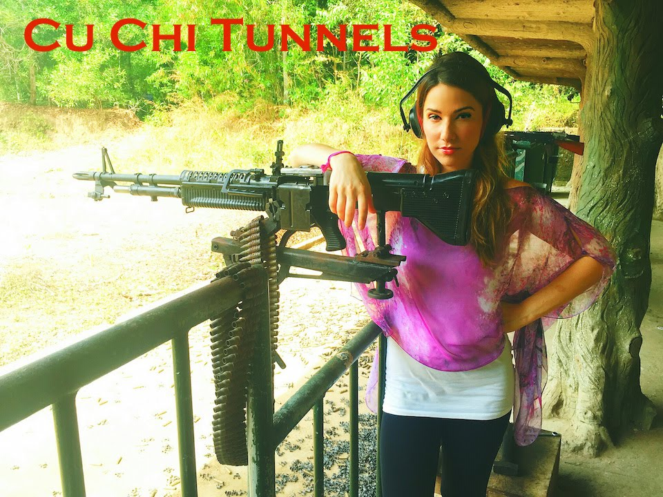 Cu Chi Tunnels Tour In Vietnam Vacation Travel Guide