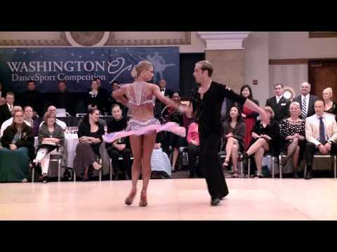 2014 Washington Open Riccardo &  Yulia - Samba