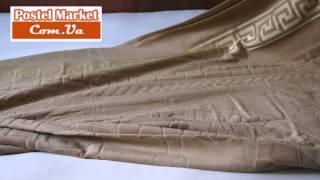 Махровая простынь велюровая DBZ YUKA(Махровая простынь, которую можно использовать как покрывало, летнее одеяло или простынь. Подробнее: http://postel..., 2014-08-12T10:10:47.000Z)