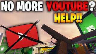 Possibly NO More YouTube??? (WE NEED YOUR HELP!!)