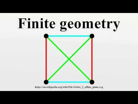 Finite geometry