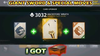 Shadow Fight 3 Giant Sword Legendary (Upgrade) + Special Moves