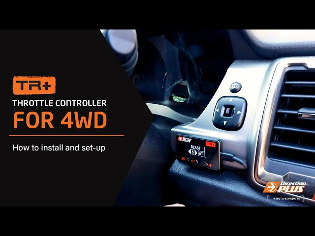TR+ Throttle Controller for 4WD: how to install and set-up