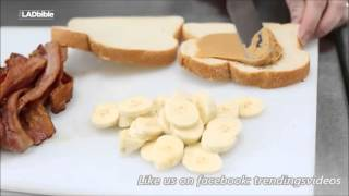Peanut Butter And Bacon Banana Sandwich Recipes 10 Mins Preparation Very Easy