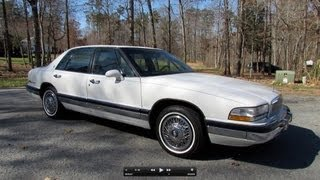 1991 Buick Park Avenue w/ 29k miles Start Up, Exhaust, and In Depth Tour