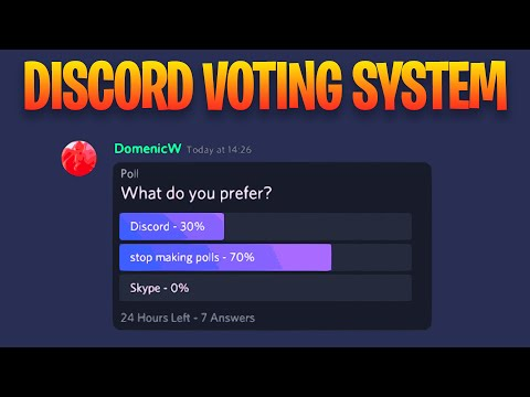 How To Make A Poll On Discord
