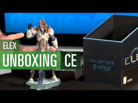 Elex - Unboxing der Collector's Edition