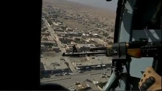 Russian helicopter patrols over northern Syria | November 2019