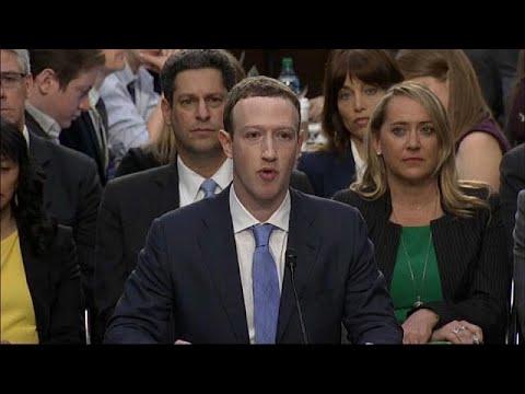 Marck zuckerberg riferisce al parlamento europeo in for Streaming parlamento