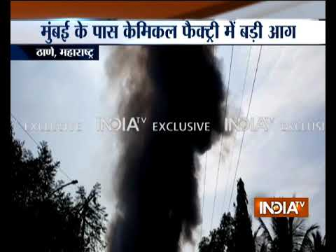 Maharashtra: Massive fire breaks out at factory in Thane